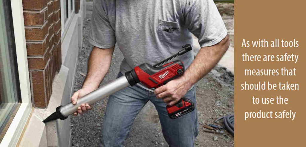 Use And Maintenance of Caulk Gun
