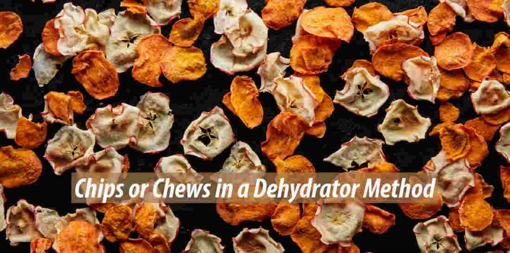 Chips or Chews in a Dehydrator Method